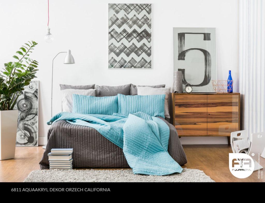 inspiracja front akrylowy aquaakryl orzech california dekor 6811