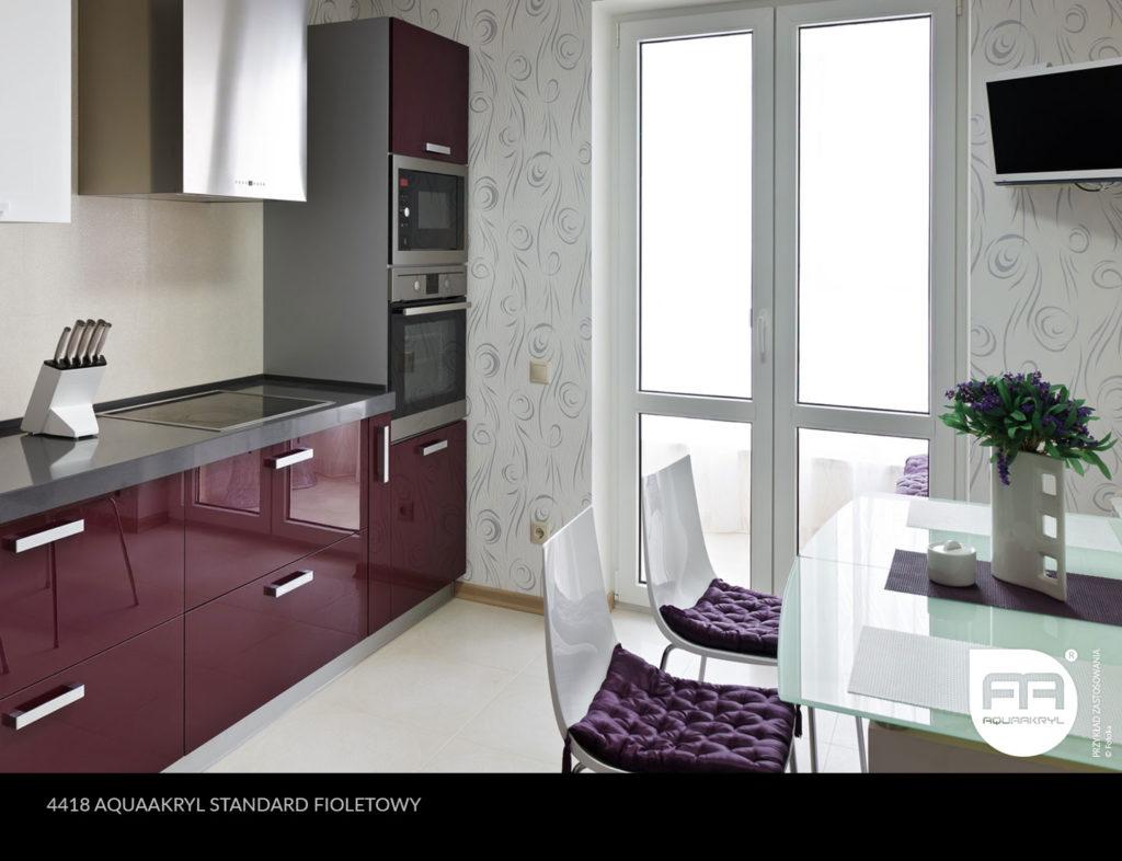 inspiracja front akrylowy aquaakryl fioletowy standard 4418