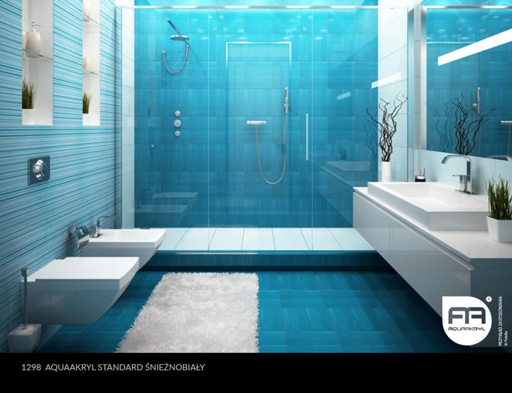 inspiracja front akrylowy aquaakryl śnieżnobiały standard 1298
