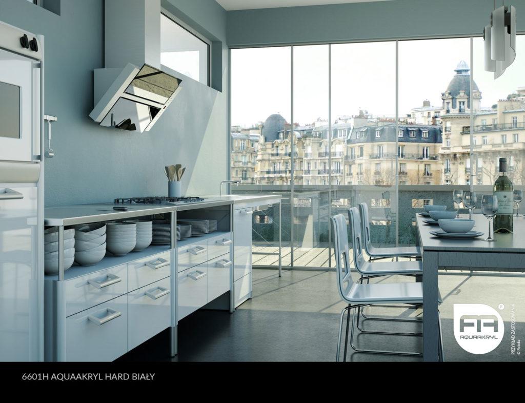 inspiracja front akrylowy aquaakryl hard biały 6601H