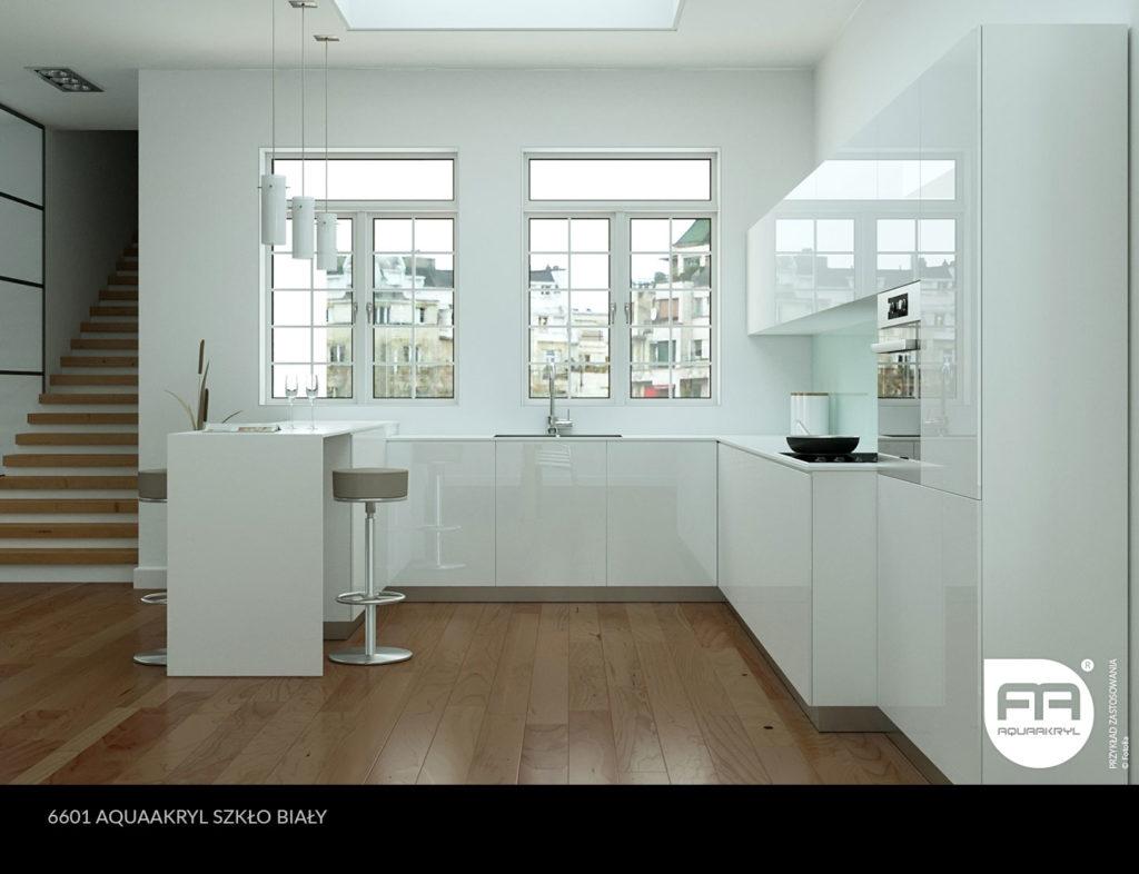 inspiracja front akrylowy aquaakryl biały szkło 6601